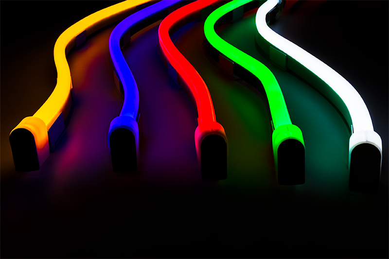 Flexible Led Neon Rope Lights Strip Dimmable